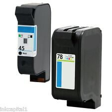 45 & 78 Ink Cartridges Non-OEM Alternative With HP Officejet 51645AE C6578AE