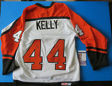 PHILADELPHIA FLYERS MULTI-SIGNED JERSEY ~ JSA R20854 ~ ERIC LINDROS ~ 8 AUOTOS