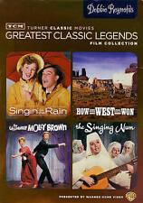 TCM LEGENDS~DEBBIE REYNOLDS~4 FILM~SINGIN IN THE RAIN~THE SINGING NUN~MOLLY BROW