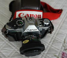 Canon AE-1 Camera Miranda 28mm Wide Angle Lens 75-300mm FD 50mm 188A Speedlite
