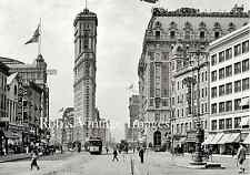 Times Square New York City about 1909 Vintage photo poster print
