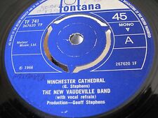 THE NEW VAUDEVILL BAND :: WINCHESTER CATHEDRAL  (1966)