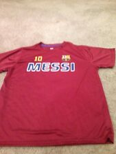 FC Barcelona Messi Adult XLarge Polyester T Shirt Tee. New.