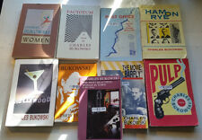 9 book lot charles bukowski notes of a dirty old man pulp post office ham on rye