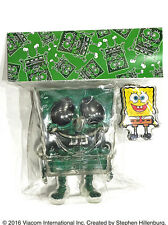 Secret Base Sponge Bob Key Chain Green Rame Set (NEW)