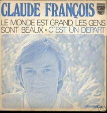 CLAUDE FRANCOIS 45 TOURS FRANCE C'EST UN DEPART