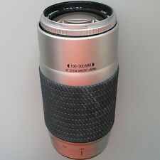 Sony Alpha mount Tokina 100-300mm f/5.6-6.7 full-frame AF macro zoom lens.Great!