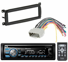New Pioneer Bluetooth CD Player Car Stereo Radio Install Mount Kit Radio Harness