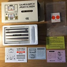 Nintendo Game and Watch Oil Panic OP-51, CGL version, MINT & boxed with papers