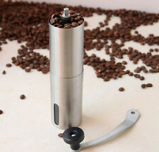 Manual New Coffee Crank Portable Grinder Coffee Mill Stainless Hand Ceramic