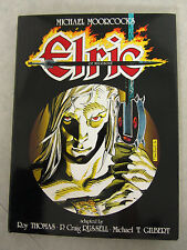 Michael Moorcock Elric of Melnibone Signed Limited Ed. 411/2000 Hardcover 1986