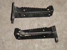 04-09 Yamaha YFZ450 YFZ 450 Foot Peg Step Rest Pegs Steps Rests New Take Off
