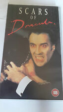 Scars of Dracula VHS. Christopher Lee.