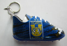 Unisex's Soccer Shoe Keychain Mexico Tigres UNAL, New Metalic Blue Black Tuca