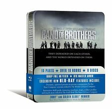 Band Of Brothers The Complete Series Blu-ray Commemorative Tin/Metal Boxset New