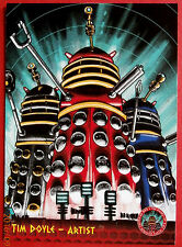 DR WHO AND THE DALEKS - Card #37 - TIM DOYLE, Artist - Unstoppable Cards 2014