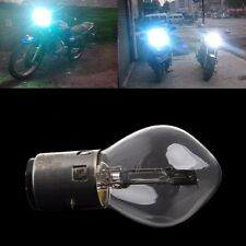 2 x 12V 35W 10A ATV Moped Scooter Head Light Bulb Motorcycle B35 BA20D Glass New
