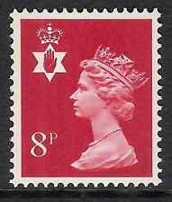 Northern Ireland 1974 NI24 8p 2 bands Regional Machin MNH