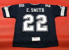 EMMITT SMITH AUTOGRAPHED DALLAS COWBOYS DOUBLE STAR JERSEY TRISTAR