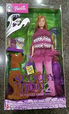 NEW Barbie Scooby Doo 2 doll Monsters Unleashed