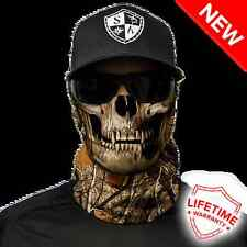 Salt Armour SA Face Shield (Forest Camo Skull Pattern) - New in package