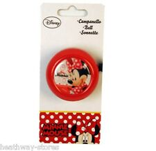 DISNEY MINNIE MOUSE BIKE BELL KIDS BELLS BICYCLE UNIVERSAL GIFT CYCLE CYCLING