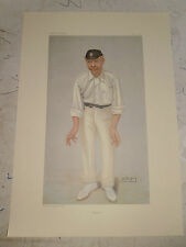 VANITY FAIR PRINT CRICKET BOBBY ROBERT ABEL FREE  UK POSTAGE