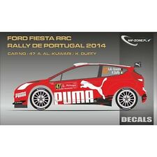 DECALS 1/43 FORD FIESTA RRC #47 - KUWARI - RALLYE PORTUGAL 2014 -MF-ZONE D43299