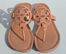 Tory Burch Miller Makeup Leather Flip Flop Sandals Size 10