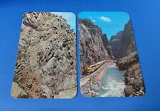(2) Postcard(s): - CO - Trains on the mountains etc etc- Early 1900s