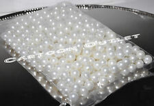 JUMBO PEARLS IVORY/WHITE TABLE DECORATION SCATTER CENTERPIECE WEDDING DECOR 1 LB