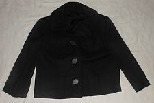 Vintage Tailored by Glenhaven Lined Womens Jacket Oversized Buttons - Size M/L