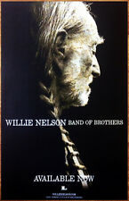 WILLIE NELSON Band Of Brothers 2014 Ltd Ed RARE New Poster +FREE Country Poster!