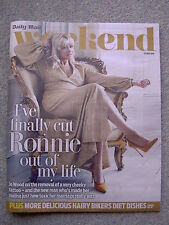 Weekend mag - Jo Wood, Chris O'Dowd, Robert Glenister, Jason Donovan, Monty Don