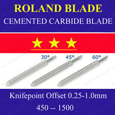 20 HQ 45 Degree Cemented Carbide Blades for Roland Cutting Plotter Vinyl Cutter