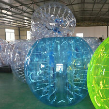 1.5M 2pcs Inflatable Bumper Ball Body Zorbing Ball Zorb Bubble Soccer/Football