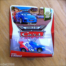 Disney World of Cars RAOUL ÇaROULE 2014 WGP diecast 2/15 French CAROULE CaRoule