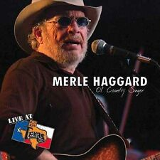 Live at Billy Bob's Texas: Ol' Country Singer by Merle Haggard (CD, Aug-2004,...