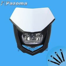Pazoma Halo H4 Headlight White Motorcycle Enduro Head Light Husqvarna WR 125 NEW