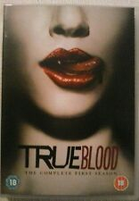 True Blood - Complete First Season (DVD, 5-Disc Box Set)  As New Condition.