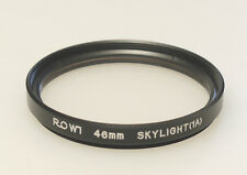 (PRL) FILTRO ROWI 46 mm SKYLIGHT 1A FILTER FILTRE FILTRU FILTAR FOTO PHOTO SKY