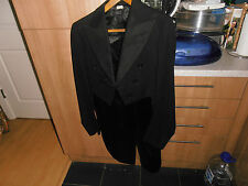 """1930s Hope Bros  White Tie Evening Dress Tailcoat Chest  size 38"""""""