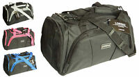 Mens Womens Sports Holdall Overnight Weekend Luggage Travel Gym Bag