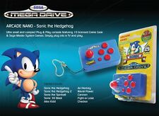 Official SEGA Mega Drive Genesis nano arcade Sonic console built-it 10 GAMES