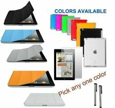 iPad 4 4g 3 3G 2 2 G SMART Cover + Screen Protector + Companion TPU Case + Stylu