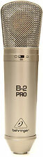 New Behringer B-2 Pro Condenser Microphone Buy it Now Make Offer! Auth Dealer!