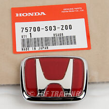 Authentic OEM JDM Honda Civic EK9 Type-R Emblem Front 75700-S03-Z00
