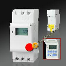 Digitale Timer Temporizzatore con Programma Settimanale 220V LCD Display ap7e