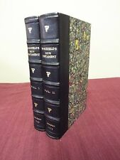 1795 Wakefield Edition of the Bible - New Testament - 2 Volumes