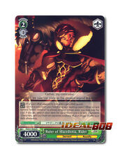 Weiss Schwarz Fate/Zero x 1 Ruler of Macedonia, Rider [FZ/S17-E036 R] English